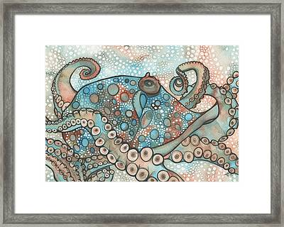 Octopus Framed Print by Tamara Phillips