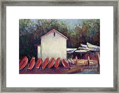 Octoquan Framed Print by Joyce A Guariglia