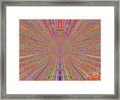Ocular Migraine Framed Print by Bobby Hammerstone