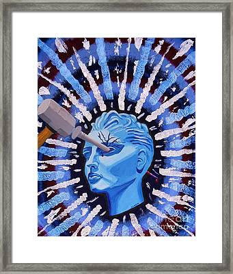 Ocular Migraine Framed Print by Vicki Maheu