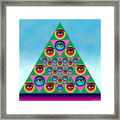 Oculi Omnium Framed Print by Eric Edelman