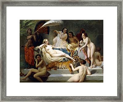 Odalisque Framed Print by Henri Pierre Picou