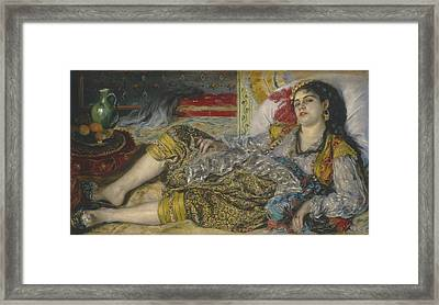 Odalisque Framed Print by Pierre Auguste Renoir