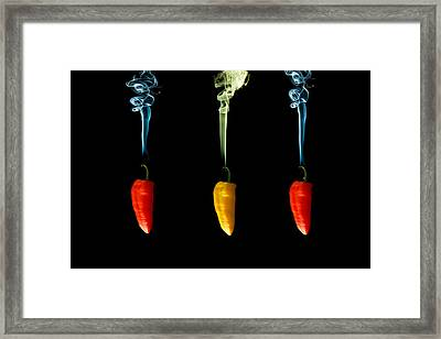 Odd One Out Framed Print by Brendan Quinn