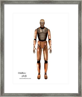 Oddbitz Framed Print