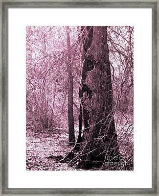 Odditree Framed Print