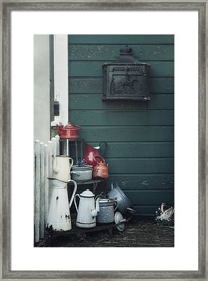 Odds And Ends Framed Print by Joana Kruse