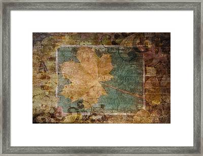Ode To Autumn Framed Print by Terri Harper