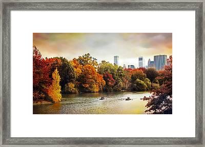 Ode To Central Park Framed Print by Jessica Jenney
