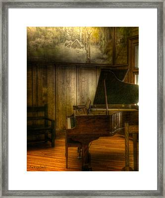 Ode To Elbert Hubbard Framed Print by Susan Kimball