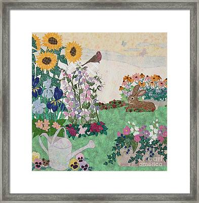 Ode To Henry And Joys Of Nature Framed Print