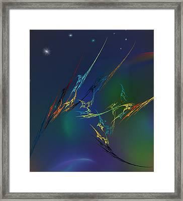Ode To Joy Framed Print by David Lane
