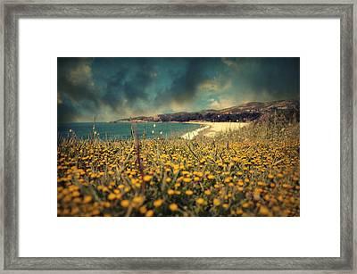 Ode To Melancholy Framed Print by Taylan Apukovska