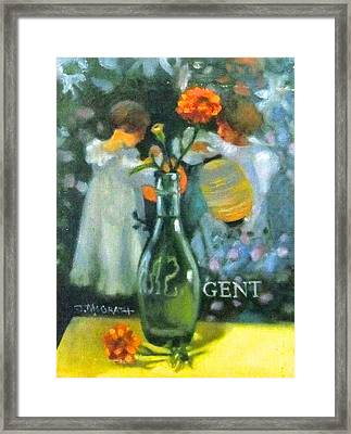 Ode To Sargent Framed Print