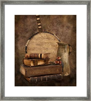 Ode To The Old Framed Print by Robin-Lee Vieira