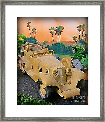 Ode To Tom Daniel Framed Print by John Malone