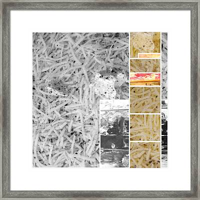 Framed Print featuring the photograph Odio Si Sta Sciogliendo by Sir Josef - Social Critic - ART
