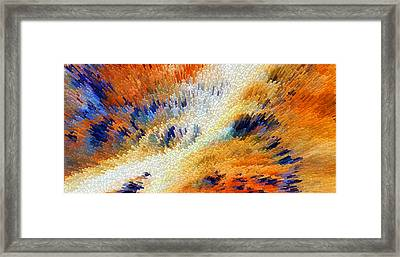 Odyssey - Abstract Art By Sharon Cummings Framed Print by Sharon Cummings