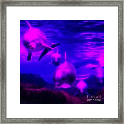 Odyssey V1 - Square Framed Print by Wingsdomain Art and Photography