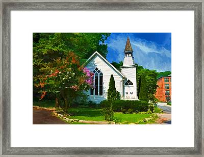 Framed Print featuring the photograph Oella by Dana Sohr