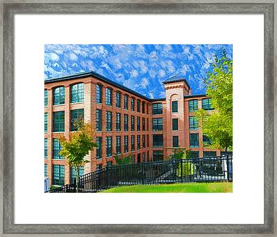 Framed Print featuring the photograph Oella Mill by Dana Sohr