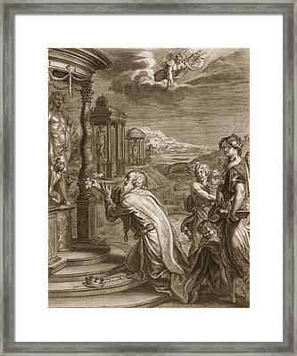Oeneus, King Of Calydon, Having Framed Print