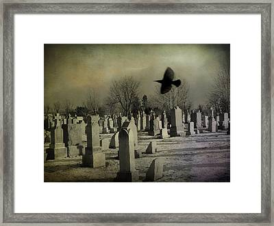 Of A Gothic Nature Framed Print