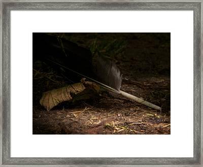 Of Earth Framed Print by Odd Jeppesen
