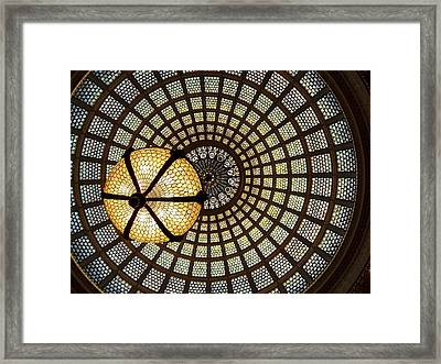 Of Lights And Lamps Framed Print by Georgia Mizuleva
