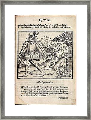 Of Pride Framed Print by British Library