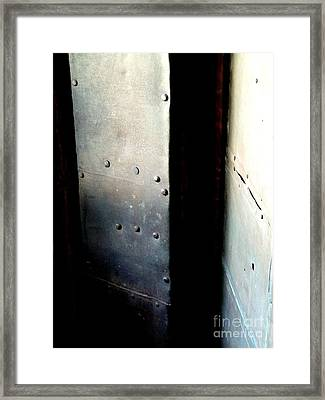 Framed Print featuring the photograph Of Shadow And Intent by Newel Hunter