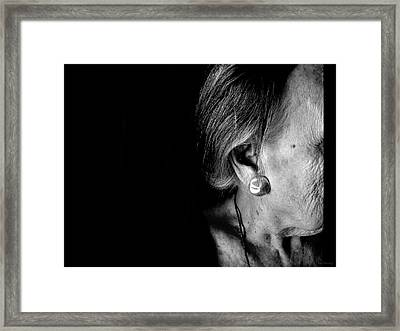 Of Thirds Framed Print by Lin Haring