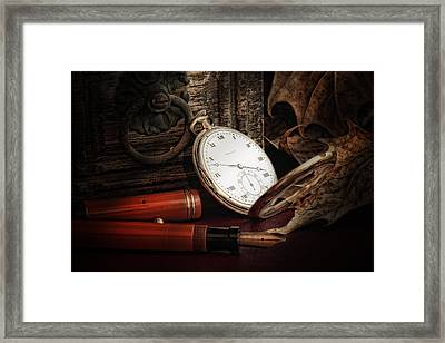 Of Times Gone By Framed Print by Tom Mc Nemar