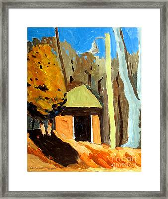 Of What Forms Does Light Play Framed Print by Charlie Spear