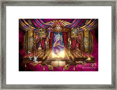 Off Broadway Framed Print