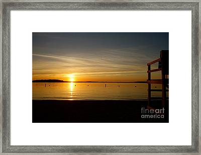 Off Duty Framed Print