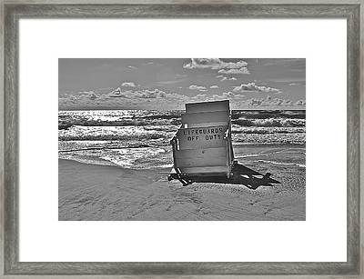Off Duty Framed Print by Joe  Burns