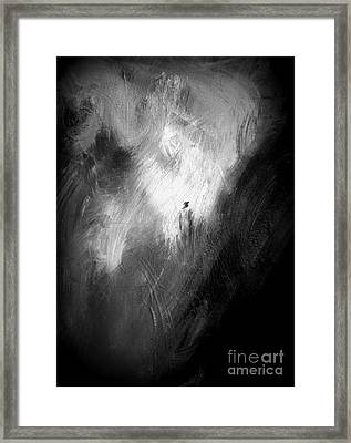 Framed Print featuring the painting Off He Goes by Christine Ricker Brandt