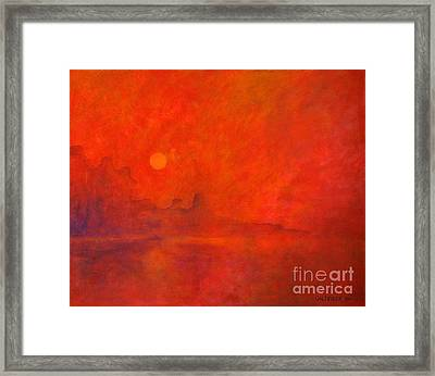 Off In The Distance Framed Print