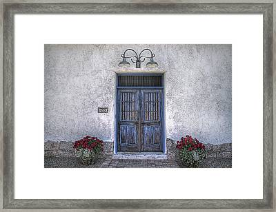 Off Kilter Framed Print
