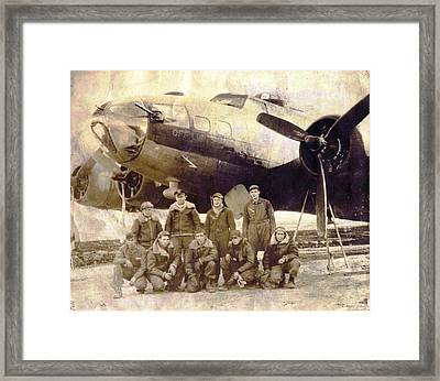 The B17 Off Limits 1942 Framed Print
