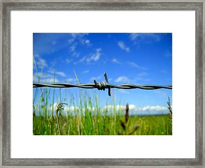 Off Limits Framed Print by Nina Ficur Feenan
