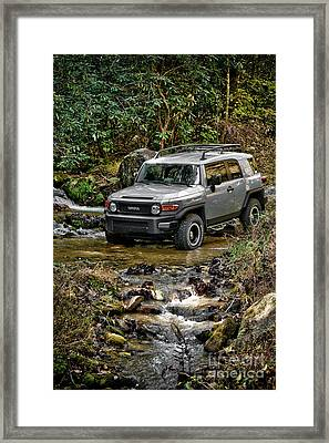 Off Road Cruiser Framed Print by Jt PhotoDesign