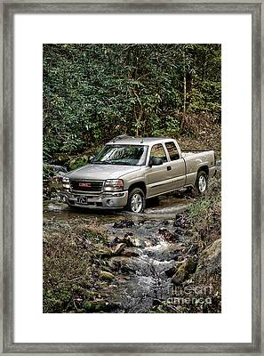 Off Road Truck Framed Print by Jt PhotoDesign