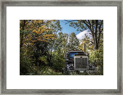 Off Road Trucker Framed Print