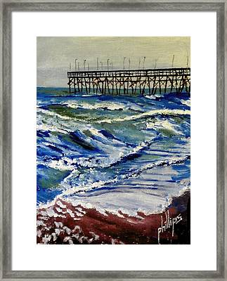 Off Season At Northtopsail Framed Print