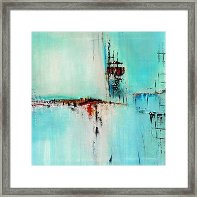 Off Shore By Elwira Pioro Framed Print