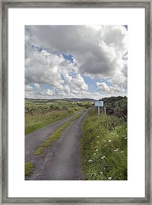 Off The Beaten Path -- Ireland Framed Print by Betsy Knapp