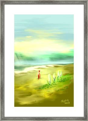 Off The Beaten Path Framed Print by Jessica Wright