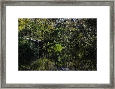 Off The Beaten Path Framed Print by Judy Hall-Folde